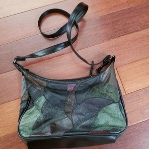 🆕️🎉Vintage Patchwork Leather Bag